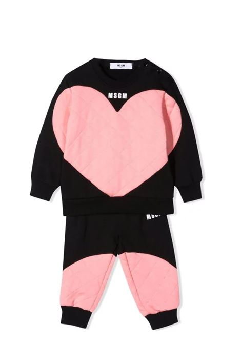 Sports suit with print MSGM KIDS | MS027876110/63