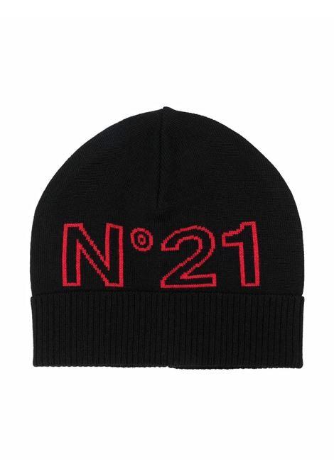 Cap with logo N°21 KIDS | N21214 N01190N900