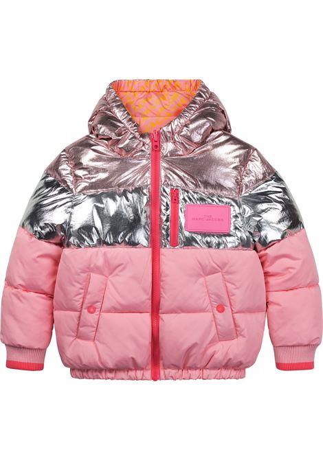 Metallic down jacket THE MARC JACOBS KIDS | W16131T45T