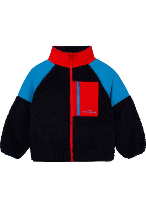 Bomber jacket with color-block design THE MARC JACOBS KIDS   W2549284E