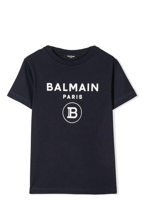 T-shirt with print BALMAIN KIDS | 6M8701 MX030930BC