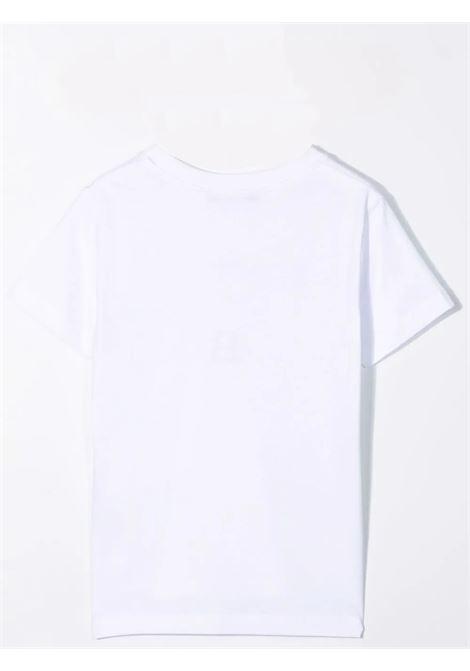 T-shirt with print BALMAIN KIDS | 6M8701 MX030T100NE