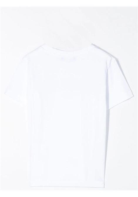 T-shirt con stampa BALMAIN KIDS | 6M8721 MX030T100