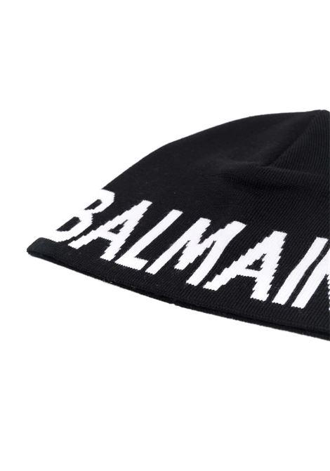Cap with logo BALMAIN KIDS | 6P0707 W0031930BC