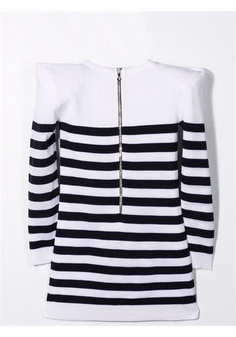 Dress with straps BALMAIN KIDS | 6P1120 W0011100BL