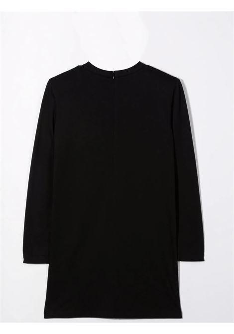 Dress with logo plaque BALMAIN KIDS | 6P1180 J0006T930