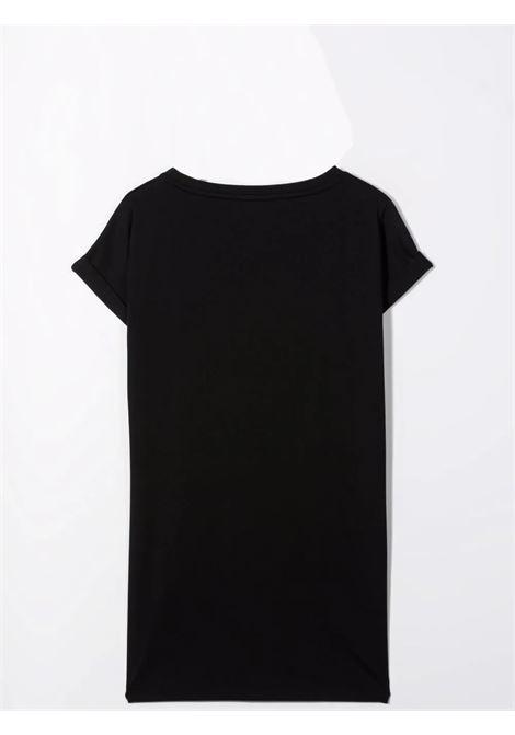 T-shirt dress with rhinestones BALMAIN KIDS | 6P1240 J0006930