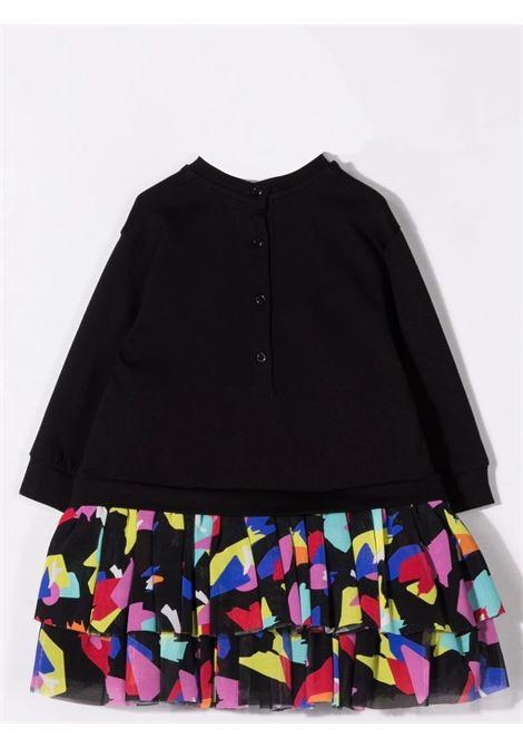 Sweatshirt dress with print BALMAIN KIDS | 6P1820 J0006930