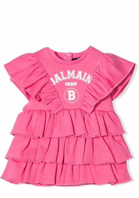 Dress with print BALMAIN KIDS | 6P1871 Z0001513
