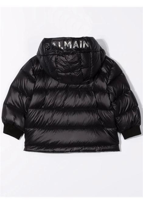 Down jacket with print BALMAIN KIDS | 6P2A70 N0029930