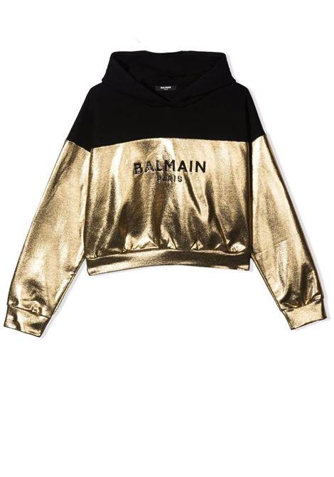 Sweatshirt with print BALMAIN KIDS | 6P4120 B0007T219
