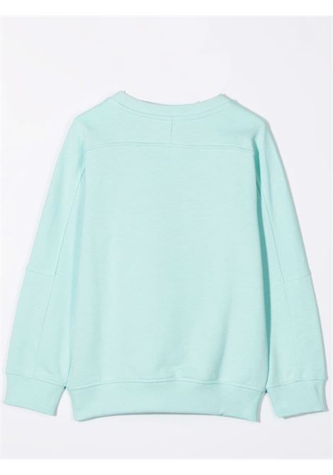 Crewneck sweatshirt with print BALMAIN KIDS | 6P4520 Z0001630