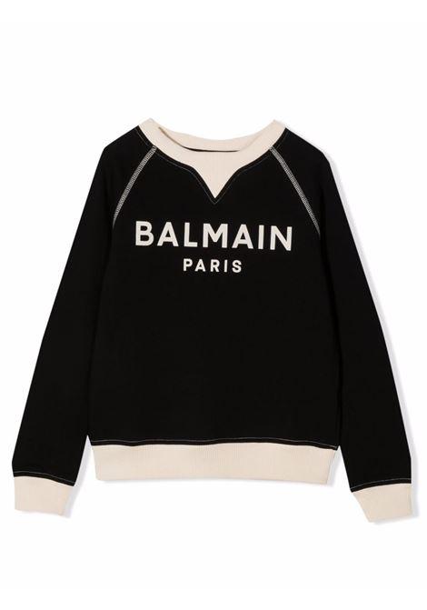 Sweatshirt with print BALMAIN KIDS | 6P4560 Z0001930BG