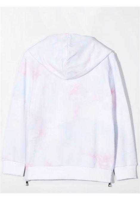 Sweatshirt with tie-dye pattern BALMAIN KIDS | 6P4670 Z0081T100MC