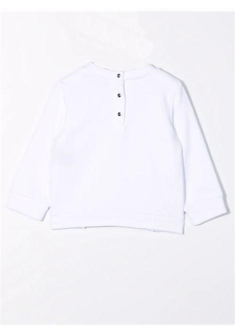 Sweatshirt with sequin logo BALMAIN KIDS | 6P4800 F0015100