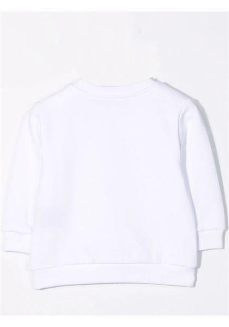 Sweatshirt with sequin logo BALMAIN KIDS | 6P4820 F0015100