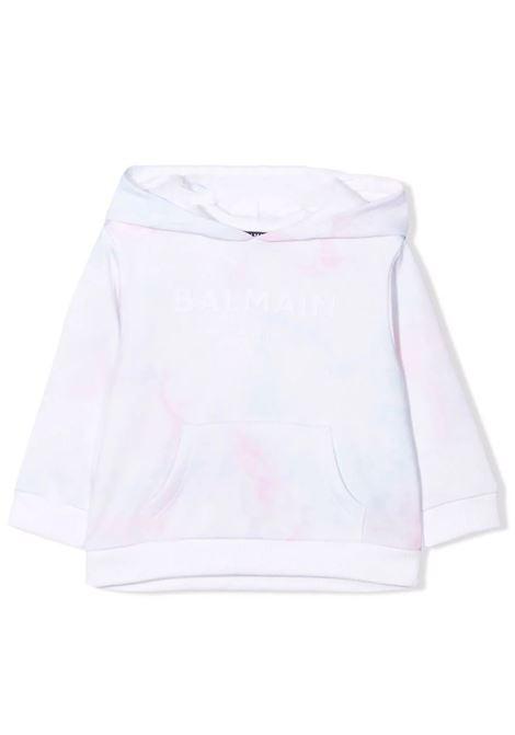 T-shirt with tie dye pattern BALMAIN KIDS | 6P4840 Z0081100MC