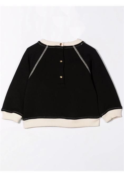 Sweatshirt with print BALMAIN KIDS | 6P4B10 Z0001930BG