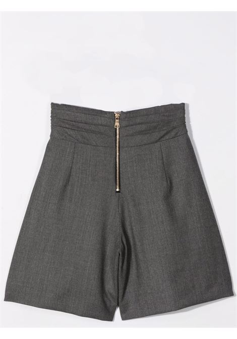 Shorts con design a incrocio BALMAIN KIDS | 6P6089 I0008912