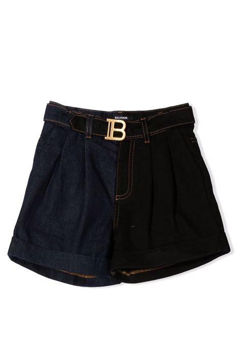 Shorts with buckle BALMAIN KIDS | 6P6189 D0014620NE