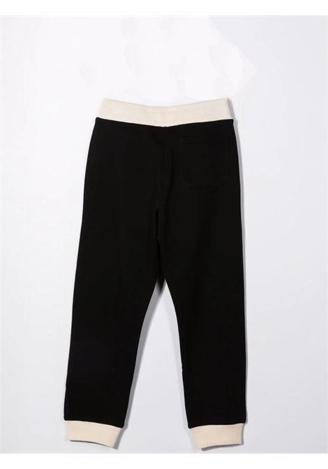 Pantaloni sportivi con stampa BALMAIN KIDS | 6P6567 Z0001T930BG