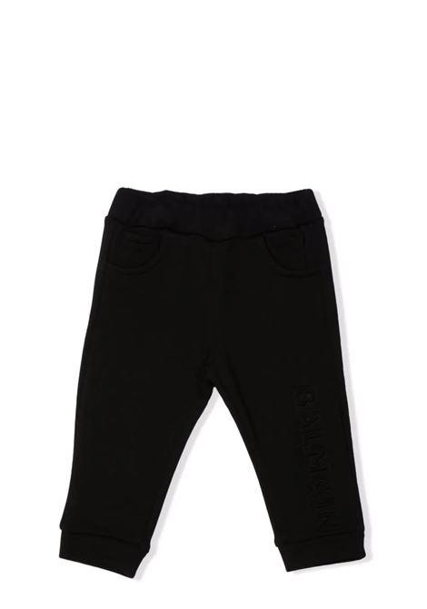 Black baby pants BALMAIN KIDS | 6P6A10 Z0002930
