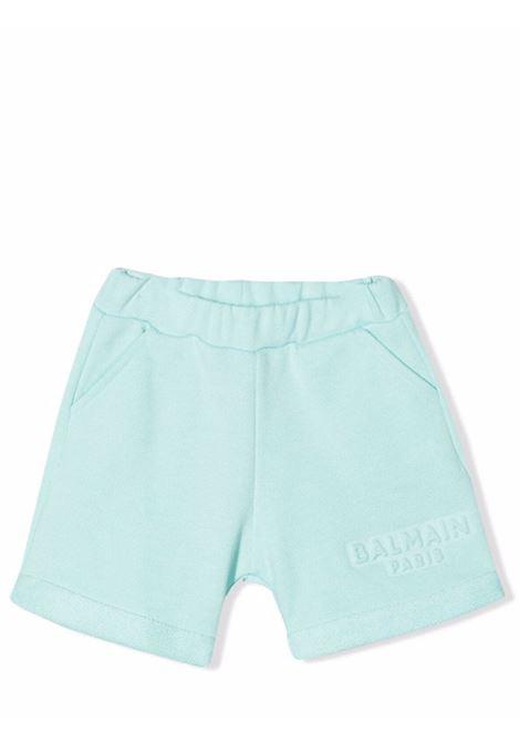 Shorts with embossed logo BALMAIN KIDS | 6P6A99 Z0001630