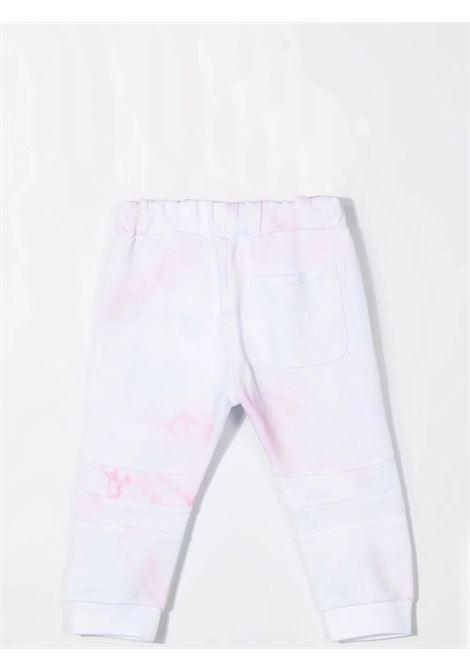 Trousers with tie-dye pattern BALMAIN KIDS | 6P6B10 Z0081100MC
