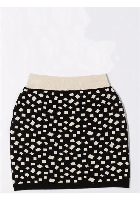 Skirt with inlay BALMAIN KIDS | 6P7010 X0001T930BG