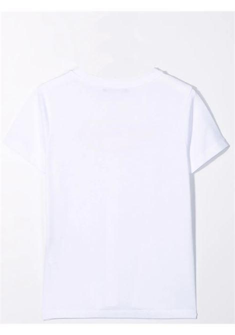 T-shirt with print BALMAIN KIDS | 6P8521 Z0003100RS