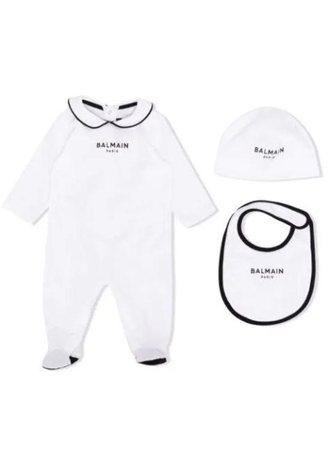 Print onesie set BALMAIN KIDS | 6P8A30 J0006100NE