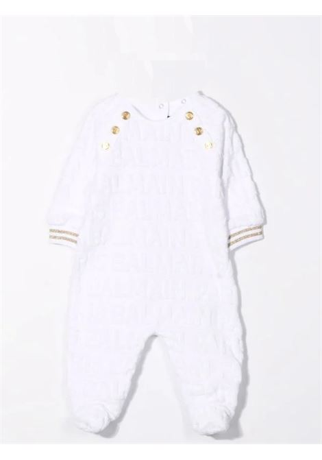 Newborn set with embossed logo BALMAIN KIDS | 6P8B40 V0022100