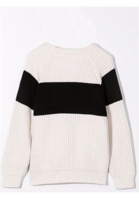 Sweater with embroidery BALMAIN KIDS | 6P9050 W0002101NE