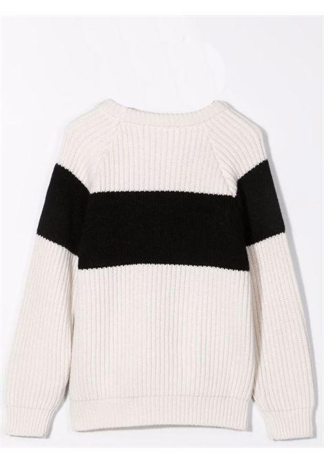 Sweater with embroidery BALMAIN KIDS | 6P9050 W0002T101NE