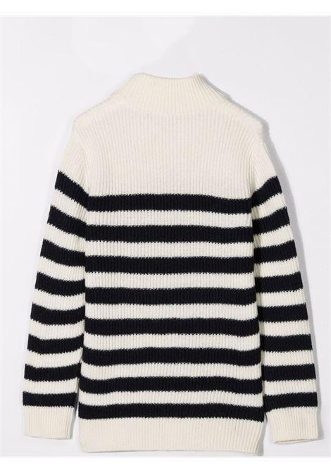 Striped sweater BALMAIN KIDS | 6P9520 W0016101BL