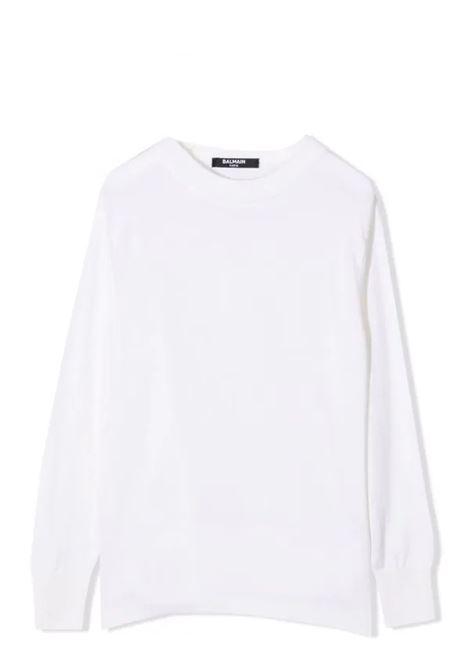 Logo sweater BALMAIN KIDS | 6P9560 W0031T100NE