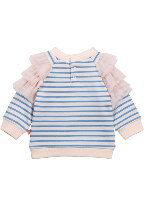 striped tulle-embellished sweatshirt BILLIEBLUSH KIDS | U0536178E