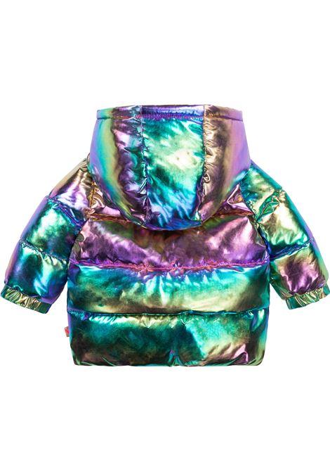 Metallic hooded jacket BILLIEBLUSH KIDS | U06123Z41