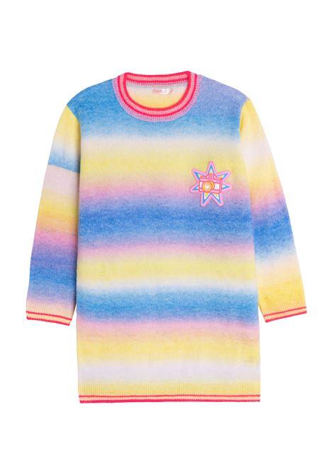 striped rib-trimmed dress BILLIEBLUSH KIDS | U12707465