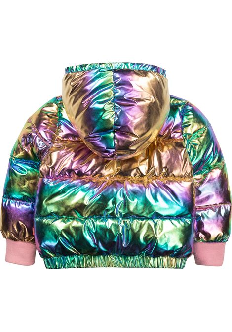 Down jacket with holographic effect BILLIEBLUSH KIDS | U16307Z41