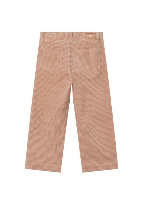 Pantaloni dritti a coste CHLOE' KIDS | C14678231