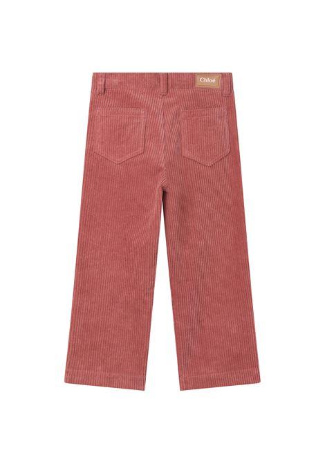 Pantaloni dritti a coste CHLOE' KIDS | C1467844V