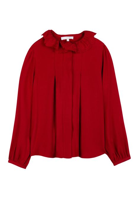 Shirt with collar CHLOE' KIDS | C15D02953
