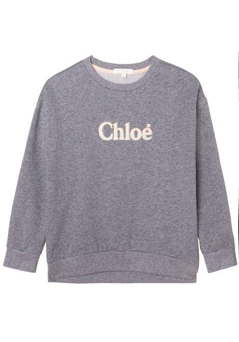 Felpa con logo CHLOE' KIDS | C15D10A38