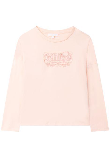 T-shirt a maniche lunghe CHLOE' KIDS | C15D1445F