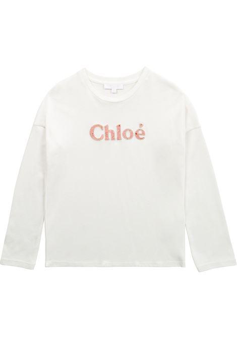T-shirt con ricamo CHLOE' KIDS | C15D21117