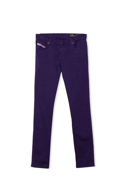 Mid-rise skinny jeans DIESEL KIDS | 00J3XW KXB9ZK636