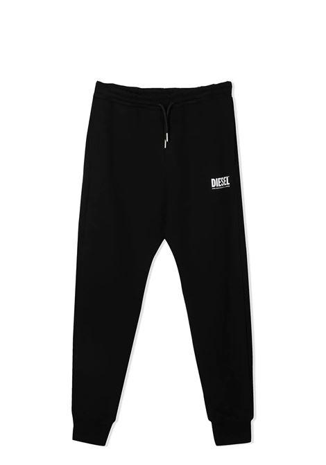 Sports trousers with print DIESEL KIDS | 00J4X8 0IAJHK900