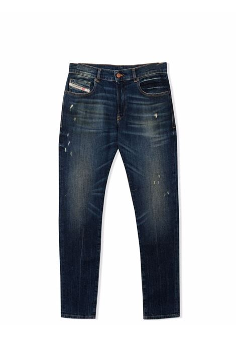 Straight jeans with a worn effect DIESEL KIDS | J00155 KXBANK01