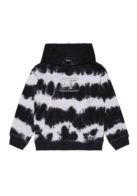 Sweatshirt with tie dye pattern DIESEL KIDS | J00241 0IAZQK100
